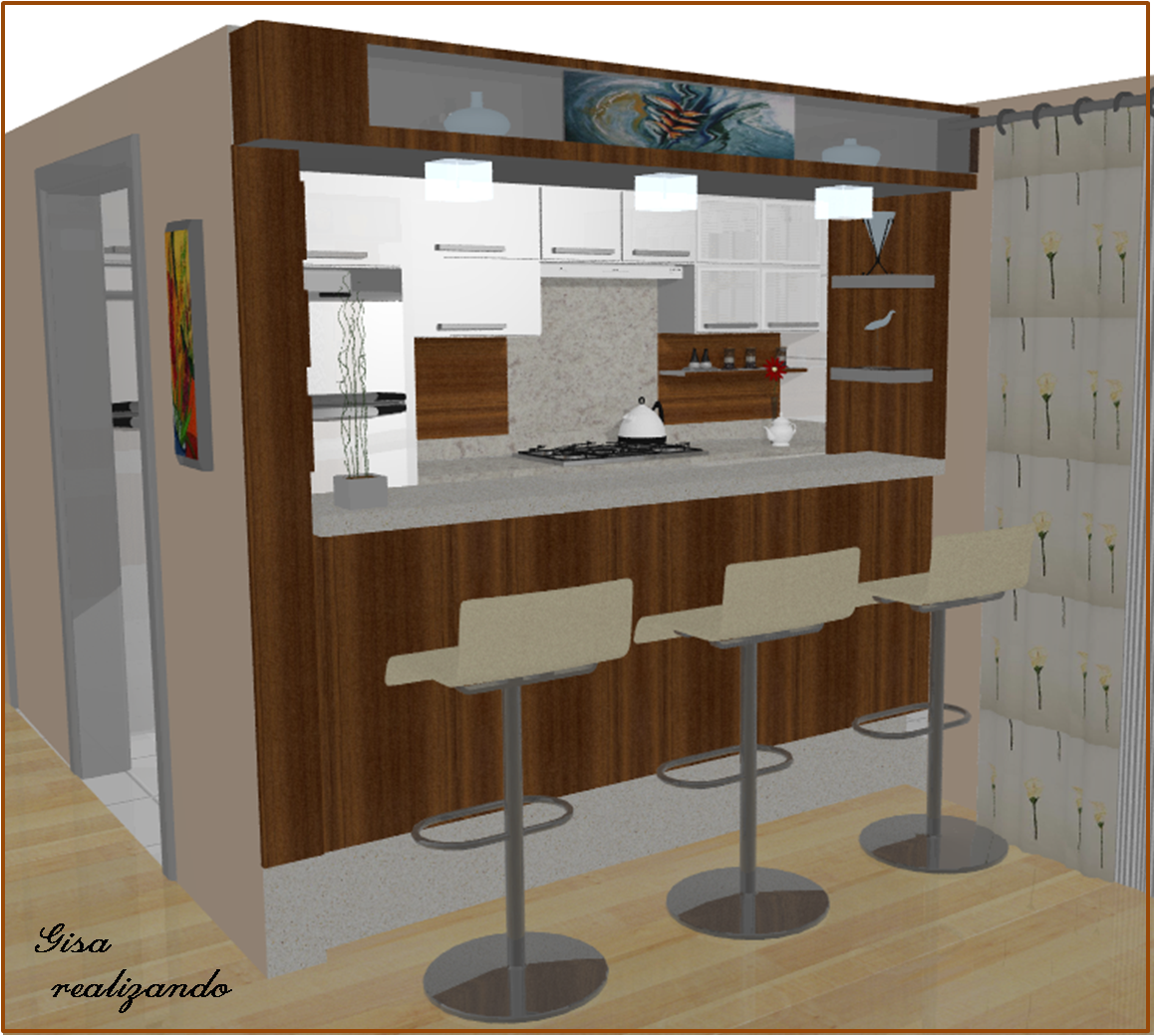 #674020 para colocar as luminárias e fazer o detalhe do nicho de cima para  1159x1040 px Projetos De Cozinhas Para Bar #641 imagens