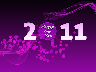 new year 2011 wallpaper designing