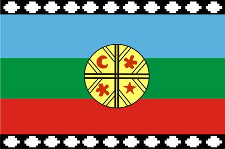 Informacin Pueblo Mapuche Bandera y significado de sus colores