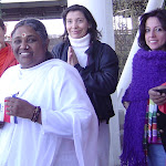 Amma with Costa Rica Flag