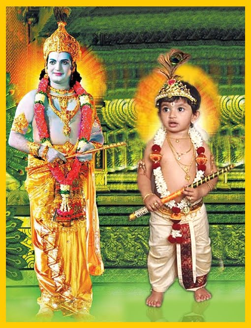 Talachiru Spriha As Sri Krishna