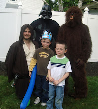 Jedi Training, Star Wars Party