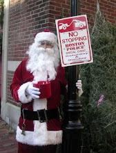 Santa in Boston