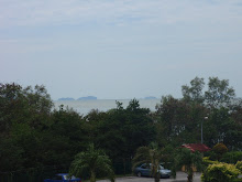 Pemandangan Selat Melaka Dari Apartment