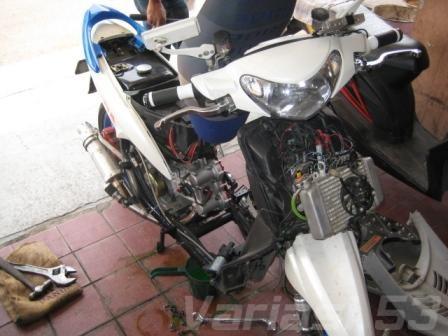 Korek Mesin Harian Yamaha Mio