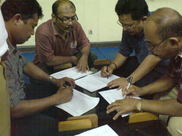 DOKUMENTASI PLPG SERTIFIKASI GURU BLPT PADANG ANGAKATAN IV 2008