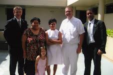 Logan baptized Nayada