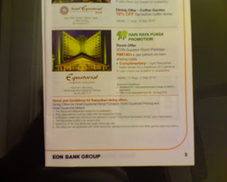 Hotel Equatorial Cameron Highlands Ramadhan Holiday Promotion via EON Credit Card