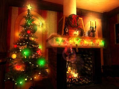 Christmas Wallpaper On 3d Animated Desktop