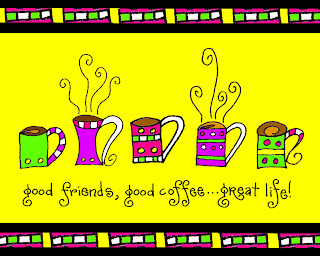 Coffee and Friends Ecard