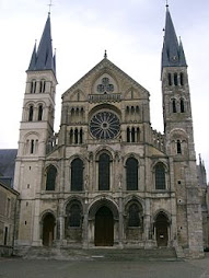 Baslica de Saint-Remi, Reims, Francia