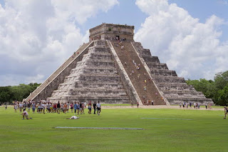 Piramide maya Chichen Itza