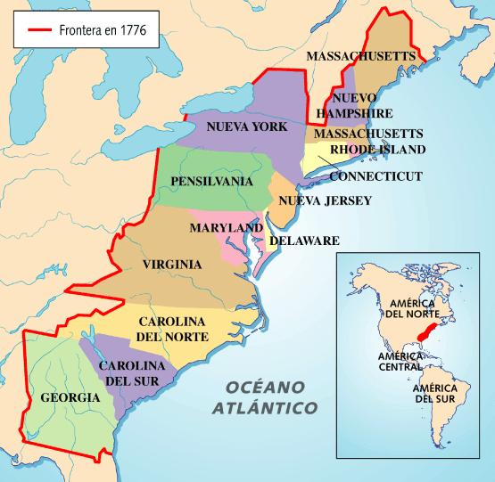 La Emancipación de los Estados Unidos de América