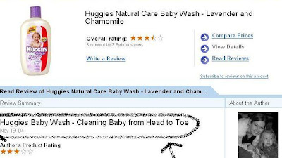 huggies baby wash