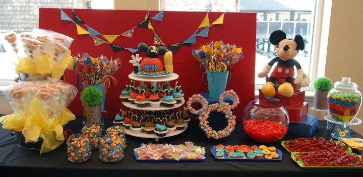 Disney Week Mickey Mouse Candy Buffet