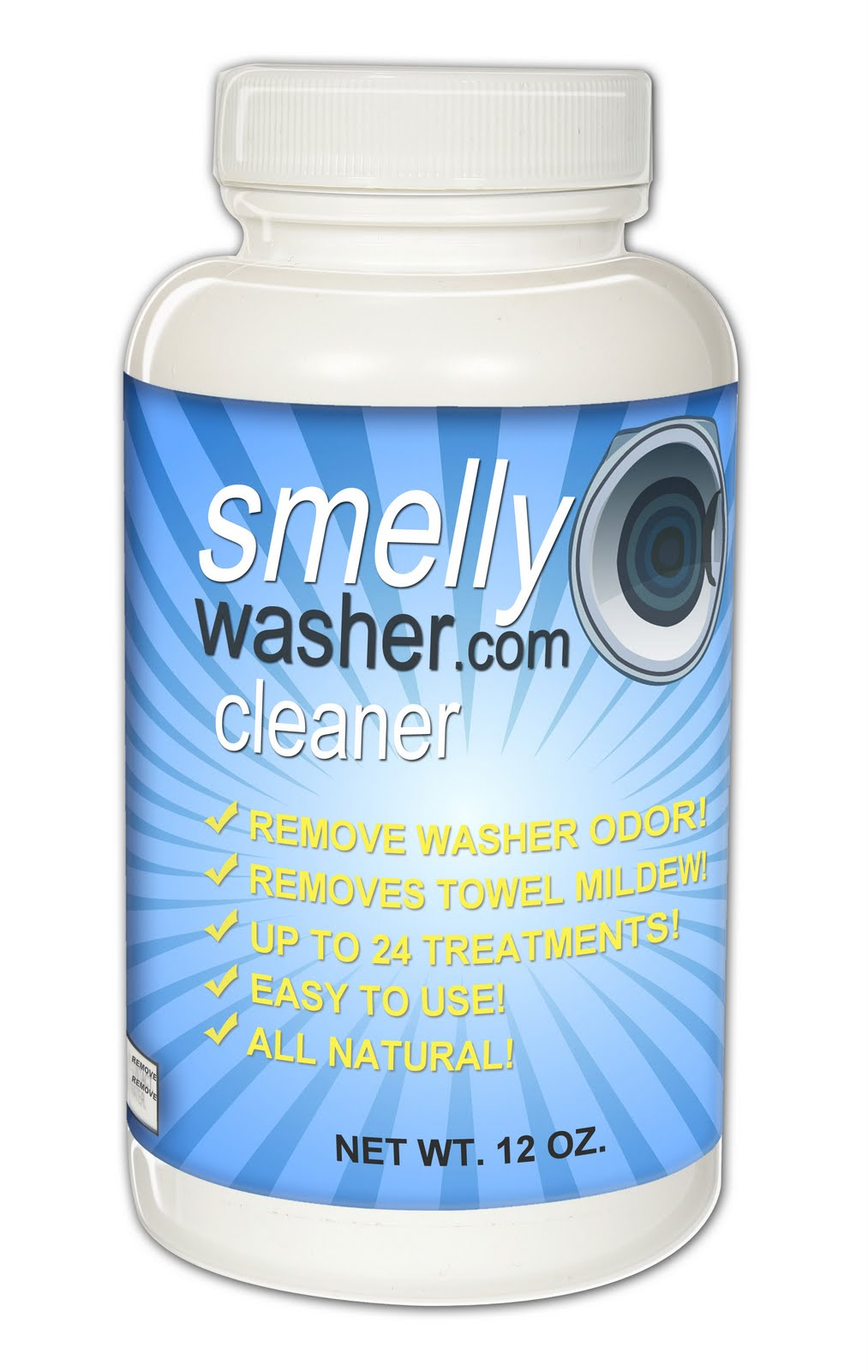 smelly washer machine