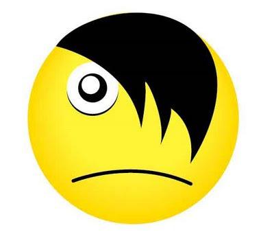 Un Emoticon emo: bancodefotosgratis.blogspot.com/2009_08_01_archive.html
