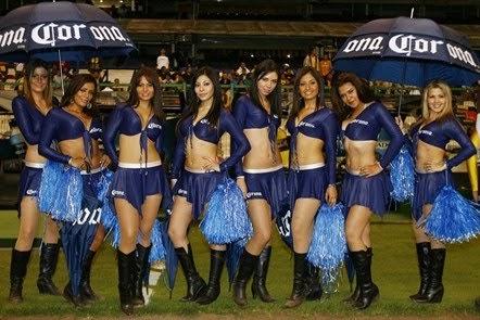 Las porristas mas sexys 8 hermosas modelos de la cerveza - Modelos de coronas ...