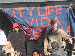 City Life/Vida Urbana Eviction Blockade