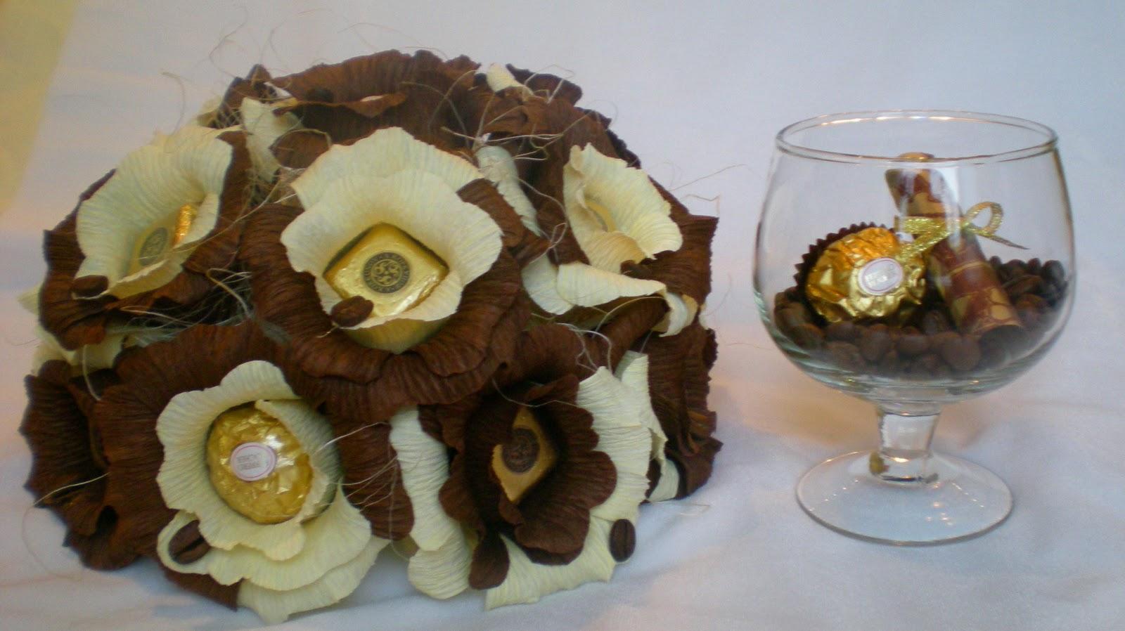 Букет из конфет в кружке Новогодняя композиция. Мастер 6