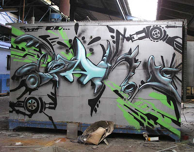 New Style 3D Graffiti Design Wallpaper,graffiti art,graffiti murals