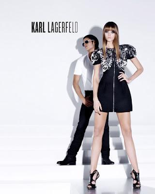 сиво - Облекло, мода, елегантност - Page 2 Karl+Lagerfeld+++Spring+Summer+2010+-4