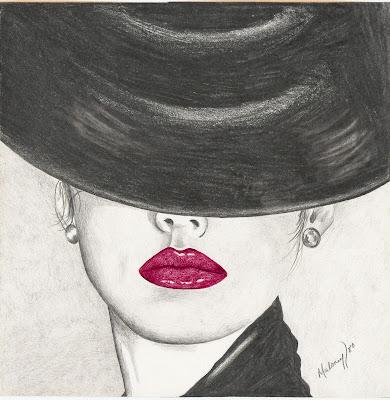 сиво - Облекло, мода, елегантност - Page 2 Lady+with+hat+over+eyes-jasc
