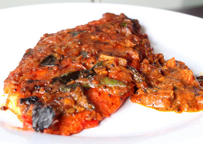 My kitchen antics foil baked fish with indian spices for Baked fish seasoning