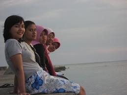 Senja di Pulau Pramuka