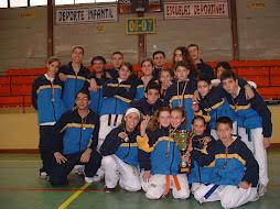 CAMPEONES CATEGORIA INFANTIL CAMPEONATO DE NAVIDAD 2006