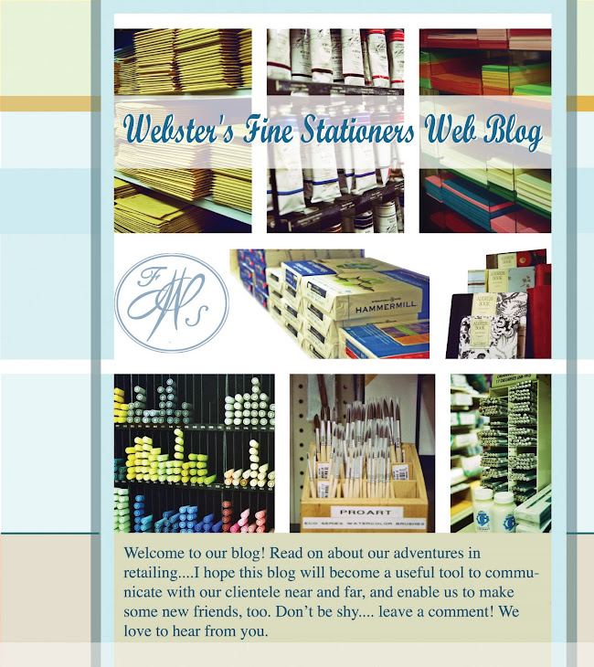 Webster's Fine Stationers Web Blog