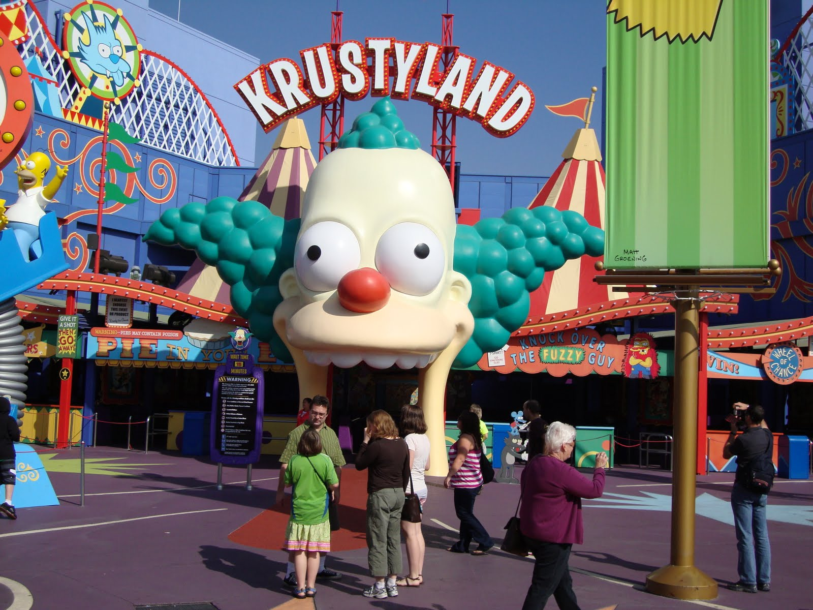 krustyland los angeles