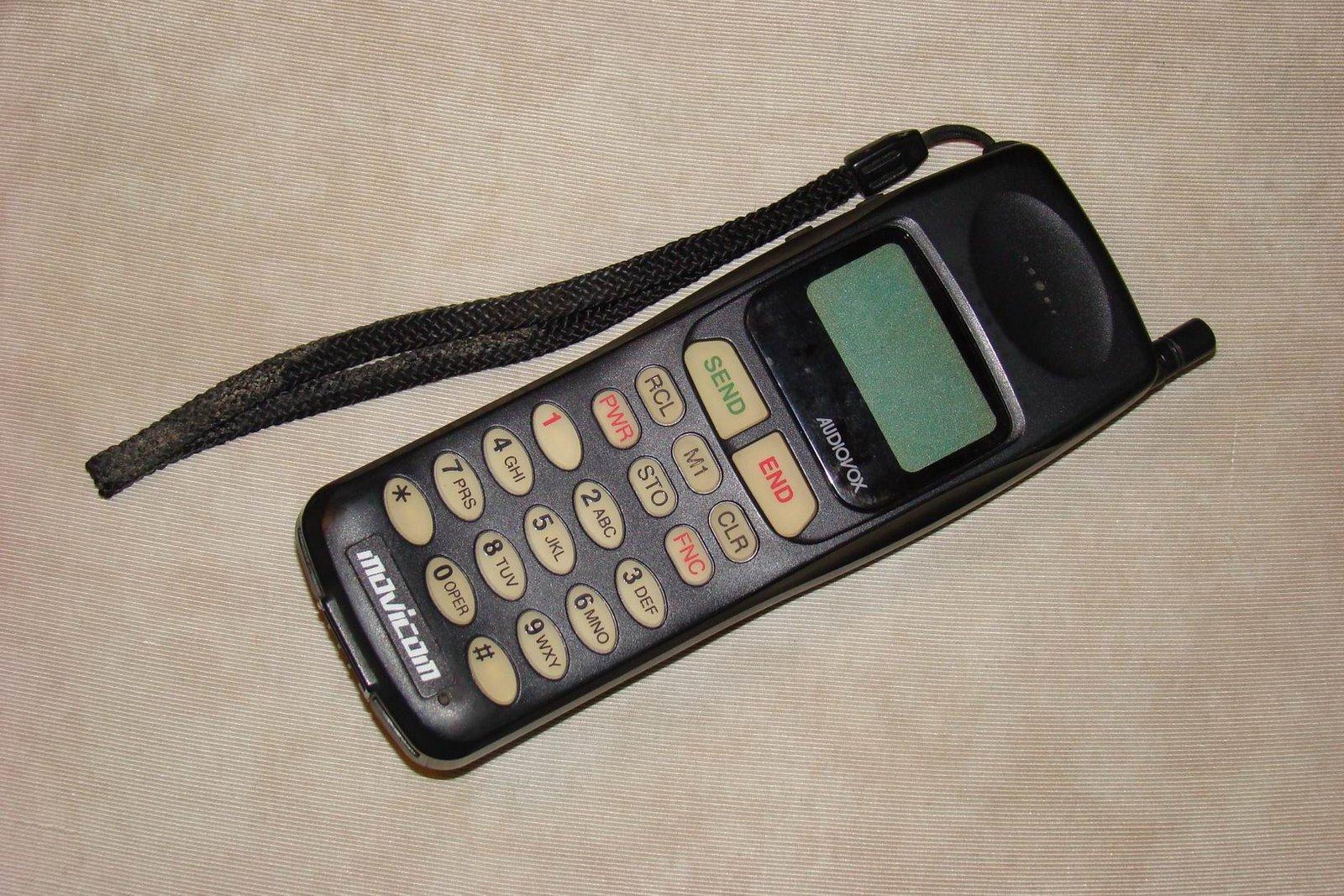 los celulares mas viejos del mundo