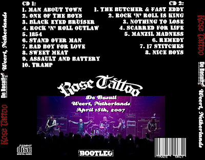 Rose Tattoo - Live At De Bosuil, Weert,