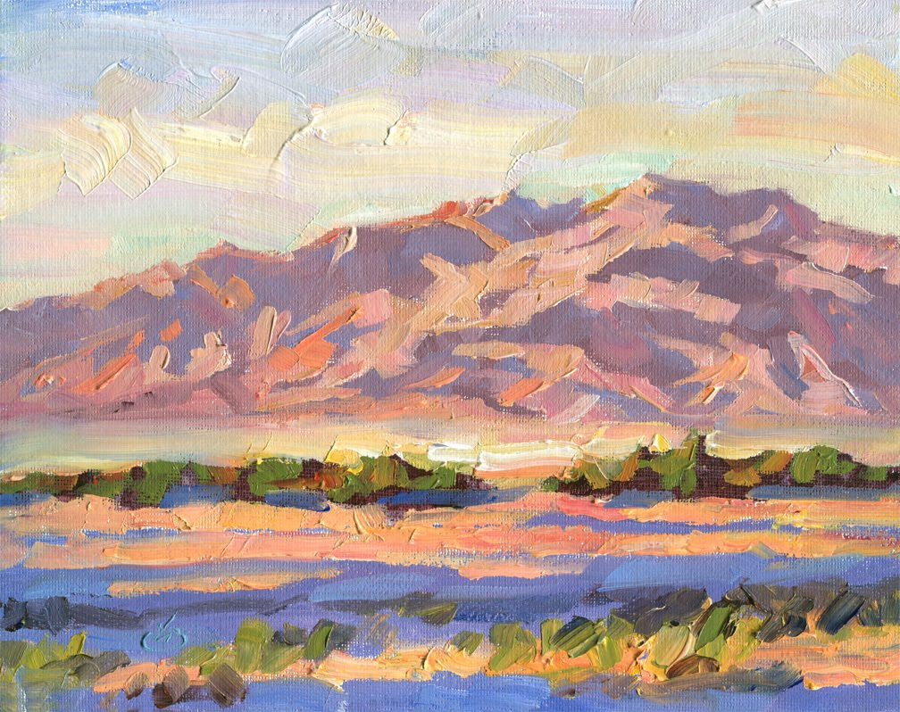 tom brown fine art southwestern desert landscape painting