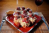 Spaghetti Cupcakes by Jessica Bosch