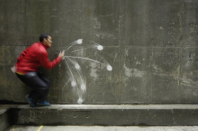 illusion chalk drawings