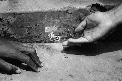 illusion chalk drawings