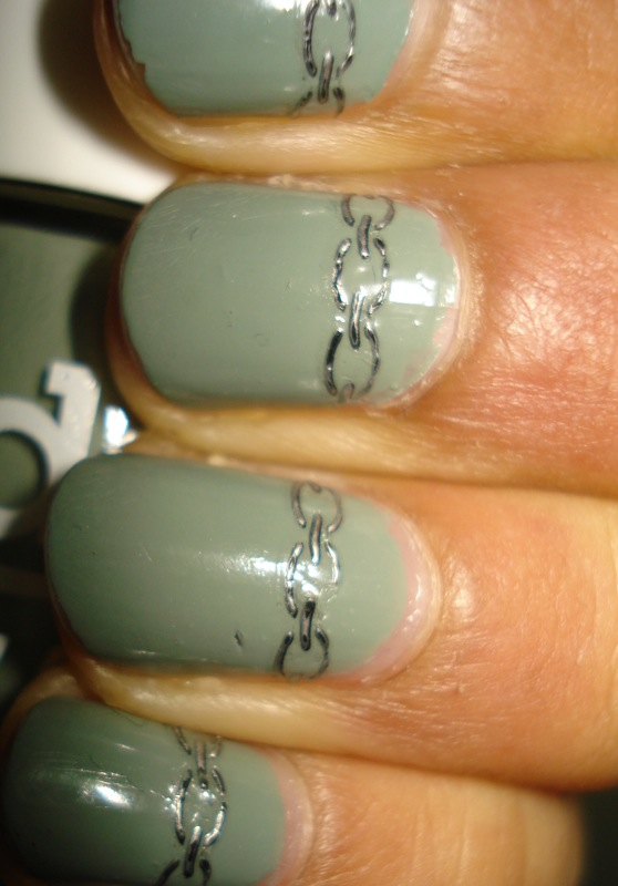 A Little Nail Art: Models Own Grace Green & Andrea Fulerton Nail Tattoo