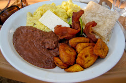 Breakfast in Honduras