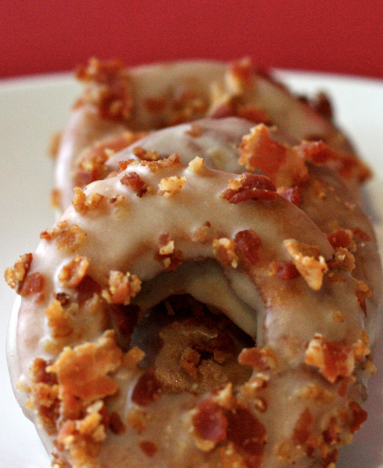 Chi Town Cook: Maple Bourbon Bacon Donuts
