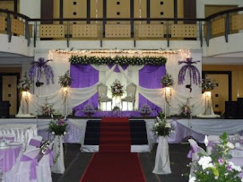 Pelamin Purple + Cream