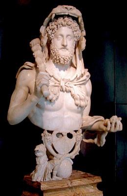 Commodo in veste di Ercole