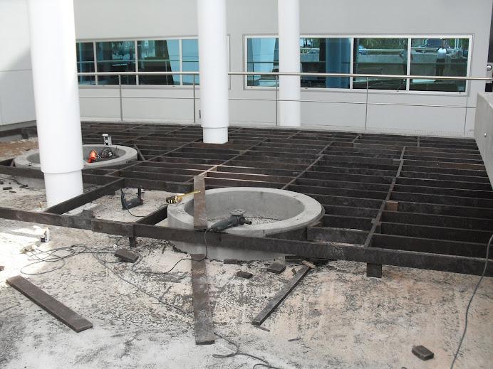 Fase de construccion deck CASINO PUERTO MADERO