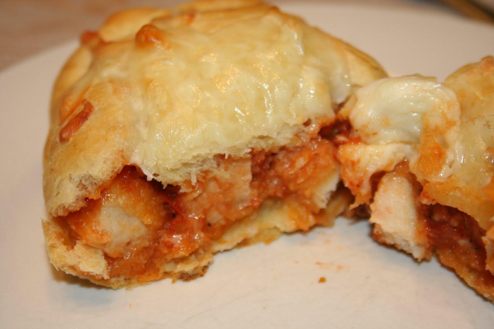 Sadie's Kitchen Adventures: Chicken Parm Calzones