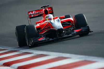 Equipe Virgin de Formula 1 de 2010 - formula-2.blogspot.com