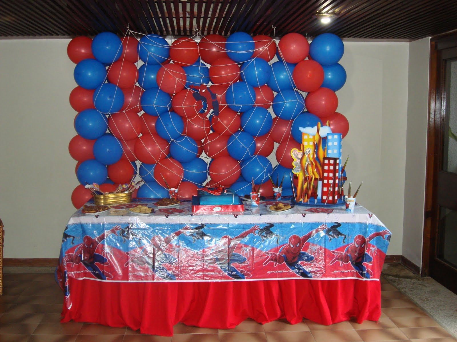 decoraciones spiderman