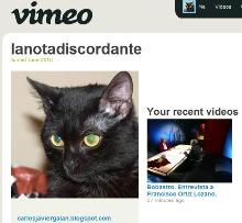 Canal <em>La nota discordante</em> en Vimeo
