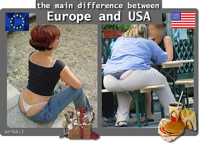American vs French diet