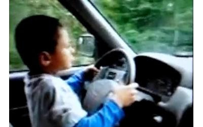 7 year old driver